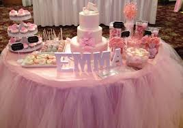 tutu themed baby shower 31 baby shower candy table decoration ideas table decorating ideas
