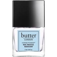 butter london nail polish treatment horse power nail rescue basecoat