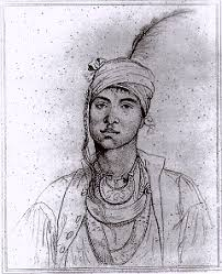 indian sketches by john trumbull