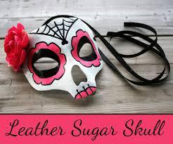 Skull Mask Halloween Sugar Skull Mask 10 Steps With Pictures