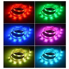 led strip lights for tv 30led m dc 5v usb cable rgb led strip light ribbon string tape 1m