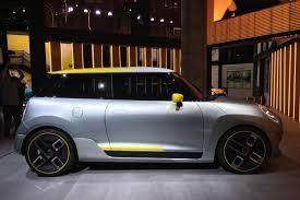 bmw reveals mini electric concept previewing 2019 production car evo