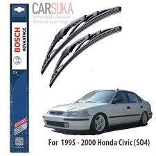 honda civic wipers bosch advantages wiper blade set for honda civic so4 19 18