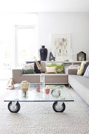 Glass Coffee Table With Wheels Coffee Table Wheels Charming Glass Coffee Table Wheels In Home