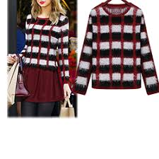 plaid sweater plaid sweaters for cheap price