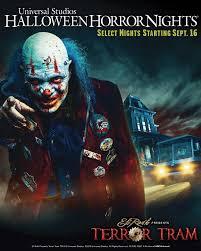 eddie halloween horror nights attractions management eli roth u0027s killer clown to u0027haunt guests