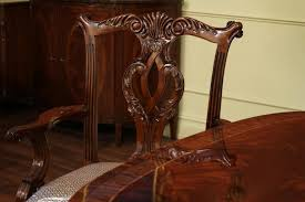 High End Dining Room Chairs Chair Large High End Mahogany Dining Table Seats 12 14 Antique