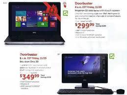 dell black friday 2013 ad leaks laptop desktop tablet pc deals