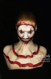 clown makeup ideas for halloween 80 best madeulook images on pinterest makeup tutorials