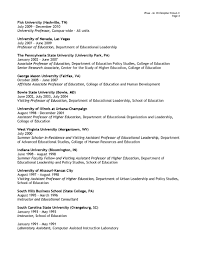 Sample Resume For Assistant Professor by Kentucky State University Releases Resumes For Three Presidential