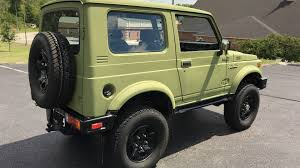 jeep samurai for sale you u0027ll be doing flips for this handsome 1986 suzuki samurai