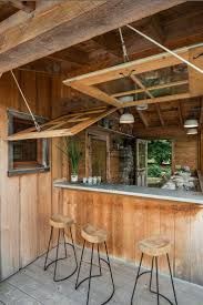 In Home Bars by Top 25 Best Rustic Outdoor Kitchens Ideas On Pinterest Rustic
