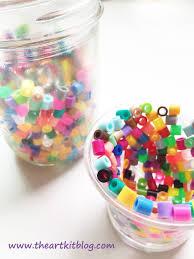 perler bead candle holders easy diy