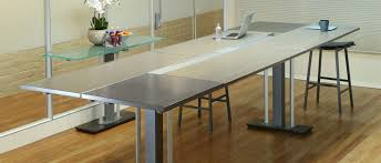 Stand Up Reception Desk Modern Conference Tables Stoneline Designs