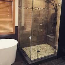Frameless Shower Door Installation Custom Glass And Mirror Company In Mn Glass Shower Doors Company