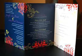 tri fold wedding invitations tri fold wedding invitations with pocket fold wedding invites diy