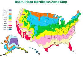 Gardening Zones Usa Map - map of usa planting zones northwestern us plant hardiness zone