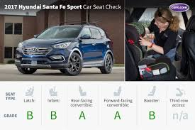 hyundai santa fe 3 child seats 2017 hyundai santa fe sport car seat check cars com
