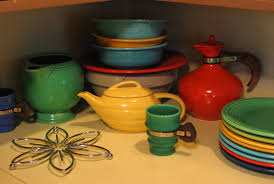 dining room embracing mid century modern style of fiestaware for