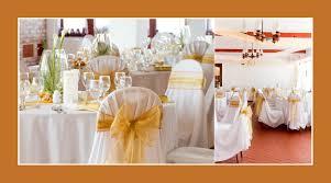 ideen zur goldenen hochzeit goldene servietten hochzeitsdeko tips