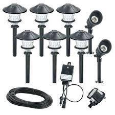 Low Voltage Landscape Lighting Transformer Low Voltage Walkway Lighting Sets U2013 Kitchenlighting Co