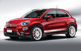 lowered jeep renegade fiat 500x expected to receive abarth makeover