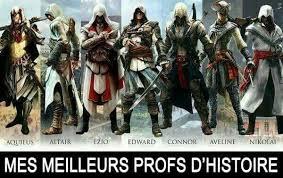 Ezio Memes - mes meilleurs profs meme by maxime gbt memedroid