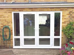 leaded glass french doors bespoke oak internal french doors with side lights and leaded