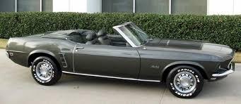 1969 Mustang Black Black Jade Green 1969 Ford Mustang Convertible Mustangattitude