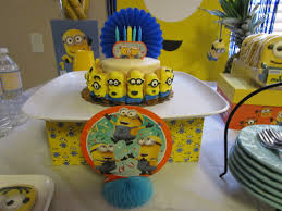 Minions Candy Buffet by The Art Of The Candy Buffet Custom Favors By Natalie