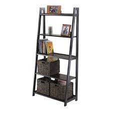 Easy Crate Leaning Shelf And by Zipcode Design Sylvia Ladder Bookcase U0026 Reviews Wayfair
