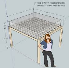 Designs For Building A Loft Bed by Wood What Header Joist Sizes Do I Need For A Loft Bed Home