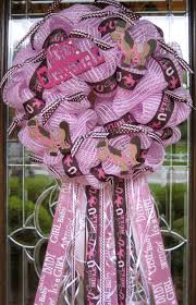deco mesh baby cowgirl wreath craft ideas pinterest deco