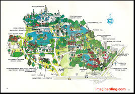 Walt Disney World Resorts Map by Your Guide To Walt Disney World 1978 Celebrating 40 Years Of Walt
