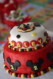 haley u0027s 2nd birthday mickey mouse birthday party ideas