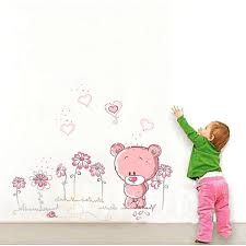 stickers chambre bebe fille stickers muraux chambre bebe fille pink nursery baby