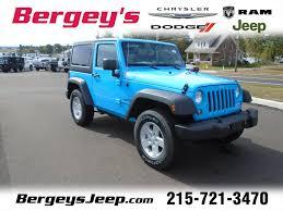 jeep wrangler in souderton pa bergey u0027s chrysler jeep dodge ram