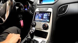 hyundai genesis coupe navigation system 2010 hyundai genesis coupe car play pioneer avh 4100nex