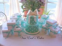 Kitchen Tea Cake Ideas Van Earl U0027s Cakes Tiffany Blue Bridal Shower Cake
