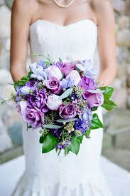 purple bouquets truly beautiful purple wedding bouquets wedding media
