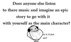 Funny Memes Forever Alone - forever alone funny lol meme music image 128138 on favim com