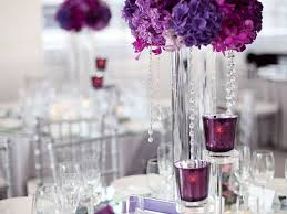 Purple Flower Centerpieces by Purple Flower Centerpieces For Weddings Wedding Corners