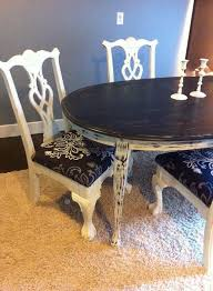 customize your own room customize your dining set shabby chic tables with reupholstered