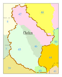 Washington State Counties Map by Water Quality Stories Stories For Chelan County Washington