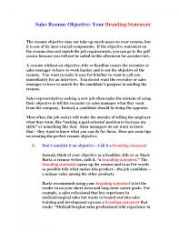 Resume Writing Tips Objective writing a career objective sle career objective statements some