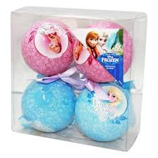 Christmas Tree Decoration Packs Uk by Frozen Themed Christmas Tree Baubles 4 Pack