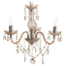 Marie Chandelier Buy Tesco Lighting Marie Therese 3 Arm Chandelier Mink From Our