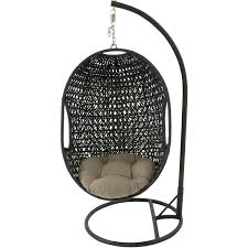 Outdoor Swingasan Chair Outdoor Wicker Rattan Hanging Egg Chair Swing Hanover Egg Swing01