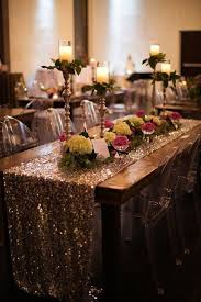 Centerpieces For Banquet Tables by 9 Trending Table Runners For Weddings Mywedding