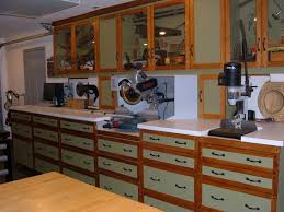 Woodworking Plans Garage Cabinets by One Wall Workshop Woodworking Plan We Used Standard Garage Shop